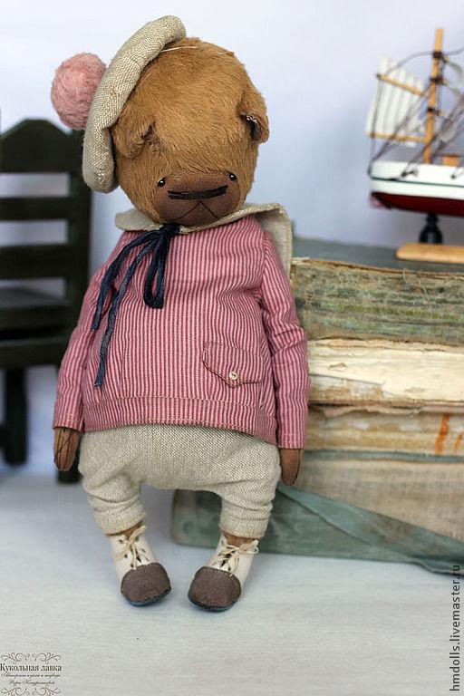 Мишки Тедди ручной работы. Ярмарка Мастеров - ручная работа. Купить Марик. Handmade. Коричневый, teddy, опилки древесные