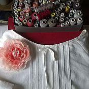Одежда ручной работы. Ярмарка Мастеров - ручная работа Блуза льняная. Handmade.