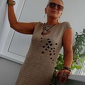 """Одежда ручной работы. Ярмарка Мастеров - ручная работа ПЛАТЬЕ """"КАМУШКИ"""". Handmade."""