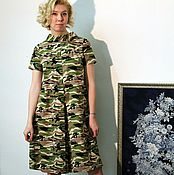 Одежда handmade. Livemaster - original item dress-pantaloons