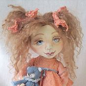 Куклы и игрушки ручной работы. Ярмарка Мастеров - ручная работа Кукла маленькая лапонька. Куклы от Милы.. Handmade.