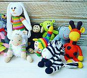 Куклы и игрушки ручной работы. Ярмарка Мастеров - ручная работа Вязаные игрушки в ассортименте. Handmade.