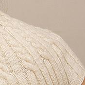 Одежда ручной работы. Ярмарка Мастеров - ручная работа Бесшовный джемпер с короткими рукавами спицами. Handmade.