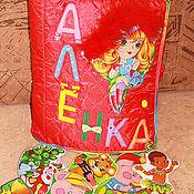"""Куклы и игрушки ручной работы. Ярмарка Мастеров - ручная работа Развивающая книжка """"Аленка"""". Handmade."""