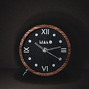 Часы ручной работы. Ярмарка Мастеров - ручная работа Часы настольные деревянные. Handmade.