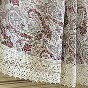 Для дома и интерьера handmade. Livemaster - original item Tablecloth cotton