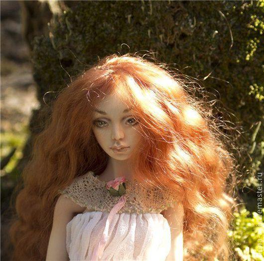 Коллекционные куклы ручной работы. Ярмарка Мастеров - ручная работа. Купить Адель, шарнирная кукла. Handmade. Кукла, подарок женщине