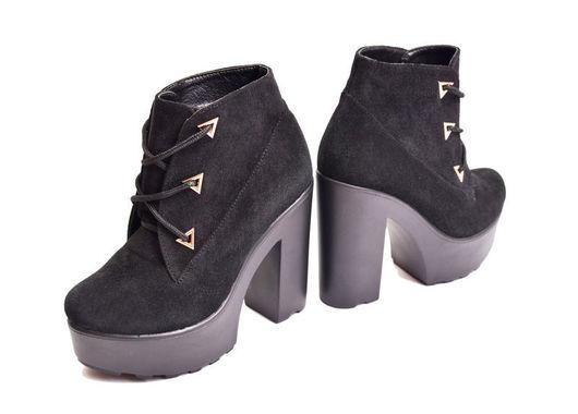 Обувь ручной работы. Ярмарка Мастеров - ручная работа. Купить Ботильоны на каблуке. Handmade. Черный, зимние сапоги, байка