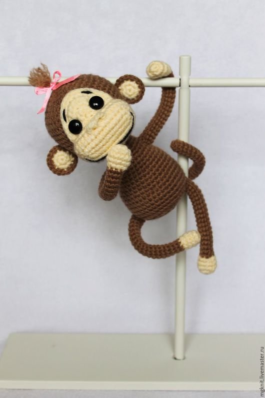 Игрушки животные, ручной работы. Ярмарка Мастеров - ручная работа. Купить Озорные обезьянки. Вязаная игрушка. Символ 2016 года. Handmade.
