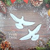 Сувениры и подарки handmade. Livemaster - original item Turtledoves pigeons made of felt from the movie