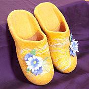 Обувь ручной работы handmade. Livemaster - original item Women`s felt Slippers