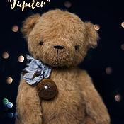 """Куклы и игрушки ручной работы. Ярмарка Мастеров - ручная работа Мишка тедди планета """"Jupiter"""". Handmade."""