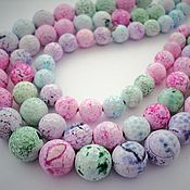 Материалы для творчества handmade. Livemaster - original item Agate faceted beads beads mix 10mm, 12mm, 14mm. Handmade.