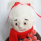 """Куклы и игрушки ручной работы. Ярмарка Мастеров - ручная работа Коллекционная валяная кукла """"Рождественский Ангел"""". Handmade."""