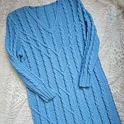 Одежда handmade. Livemaster - original item Hand-knitted tunic dress