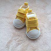 Материалы для творчества ручной работы. Ярмарка Мастеров - ручная работа Кукольная обувь. Handmade.