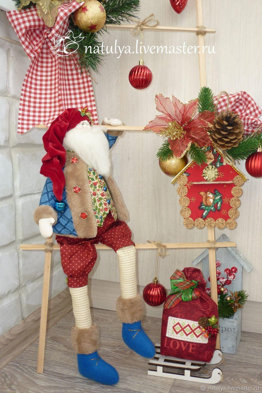 санта  санта санта санта санта Новый Год новогодний подарок новогодний интерьер новый год 2018 санта  тильда санта дед мороз  дедушка мороз подарок на новый год подарок к Новому году подарок девочке