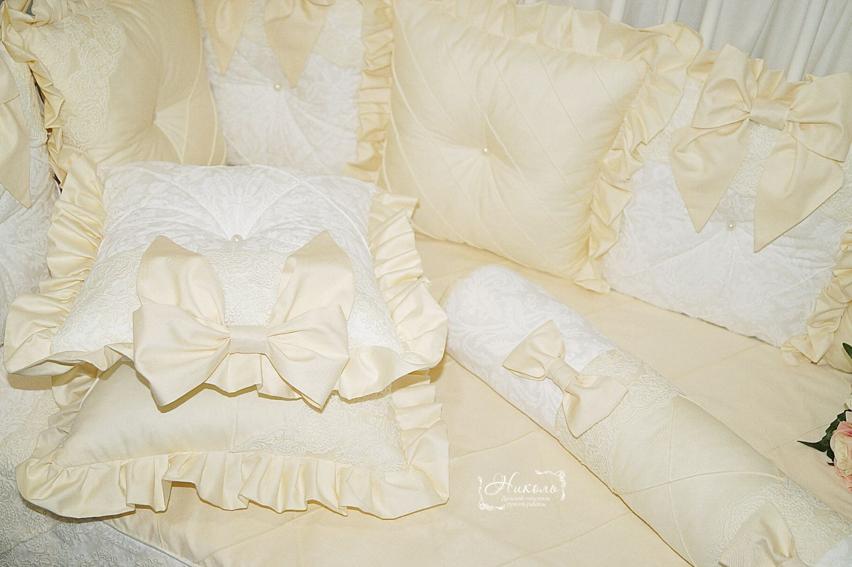 Бортики в детскую кроватку, Бортики в кроватку, Одинцово,  Фото №1