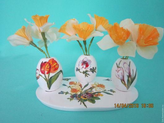 Яйца ручной работы. Ярмарка Мастеров - ручная работа. Купить Сувенир пасхальный. Handmade. Сувенир, подарок, Пасха, пасхальный сувенир