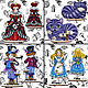 Order Decor: collection of Alice, the coveted key. FavoriteStitch. Livemaster. . Puppet show Фото №3