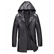 Мужская одежда handmade. Livemaster - original item Men`s outerwear: Men`s jacket, made of genuine calfskin. Handmade.
