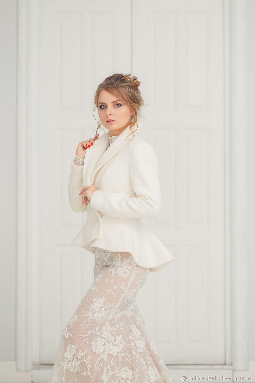Wedding coat, Bridal jacket, Bridal coat, Maria, Capes, Moscow,  Фото №1