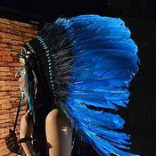 Одежда handmade. Livemaster - original item Indian headdress - Mountain Waterfall. Handmade.