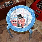 Для дома и интерьера ручной работы. Ярмарка Мастеров - ручная работа Дизайнерские табуреты для кухни, в английском стиле. Handmade.