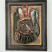 """Картины и панно ручной работы. Ярмарка Мастеров - ручная работа """" Его Величество Цаяц"""". Handmade."""