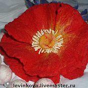 Украшения ручной работы. Ярмарка Мастеров - ручная работа Цветы из войлока. Handmade.