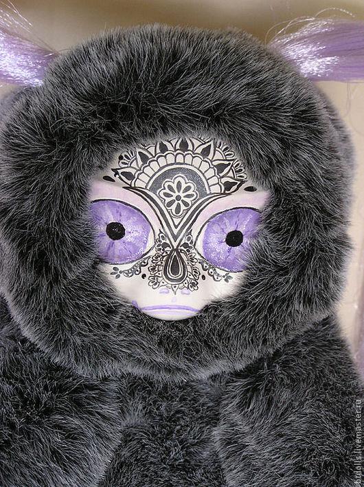 Игрушки животные, ручной работы. Ярмарка Мастеров - ручная работа. Купить кукла Ля Мур Гранде шиншилла Sakura fans (Сакура веера). Handmade.