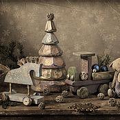 """Куклы и игрушки ручной работы. Ярмарка Мастеров - ручная работа Игрушки """"Souvenirs d`enfance"""".. Handmade."""