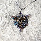 Украшения handmade. Livemaster - original item Triangular star. Handmade.