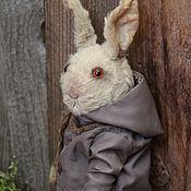Куклы и игрушки handmade. Livemaster - original item Grey rabbit. Handmade.
