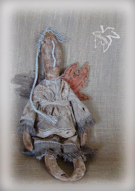 Куклы и игрушки ручной работы. Ярмарка Мастеров - ручная работа. Купить Ангел ...  над городом. Handmade. Примитивная кукла, осень