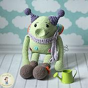 Stuffed Toys handmade. Livemaster - original item Toy Spring Crank. Handmade.