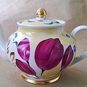 Винтаж handmade. Livemaster - original item 50s. kettle. verbilki. handmade.. Handmade.
