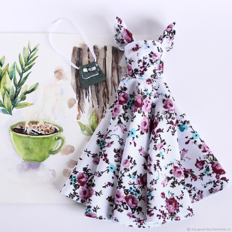 Наряд для Барби. Чайная роза, Одежда для кукол, Орел,  Фото №1