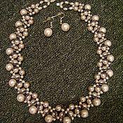 Украшения ручной работы. Ярмарка Мастеров - ручная работа ожерелье. Handmade.