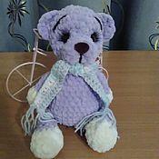 Мягкие игрушки ручной работы. Ярмарка Мастеров - ручная работа Мягкие игрушки: медвежонок. Handmade.