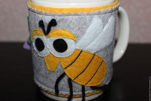 Кухня ручной работы. Ярмарка Мастеров - ручная работа. Купить чехол на чашку. Handmade. Комбинированный, подарок, чехол для чашки
