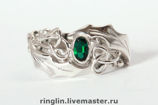 Rings handmade. Livemaster - handmade. Buy Ring with chrysolite. A Series Of 'Eld'.925 sterling silver, melchior