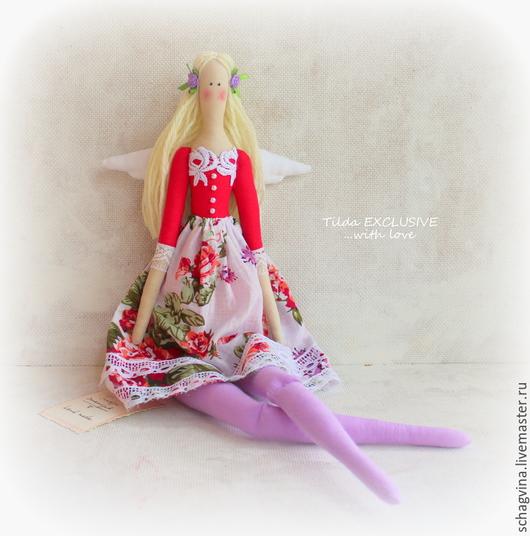 Куклы Тильды ручной работы. Ярмарка Мастеров - ручная работа. Купить Ангел Полина. Handmade. Кукла Тильда, принцесса тильда