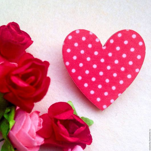 """Броши ручной работы. Ярмарка Мастеров - ручная работа. Купить Брошь-сердце """"Валентинка"""". Handmade. Ярко-красный, брошка"""