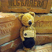Куклы и игрушки ручной работы. Ярмарка Мастеров - ручная работа Киса (почти Воробьянинов) в новой комплектации. Handmade.