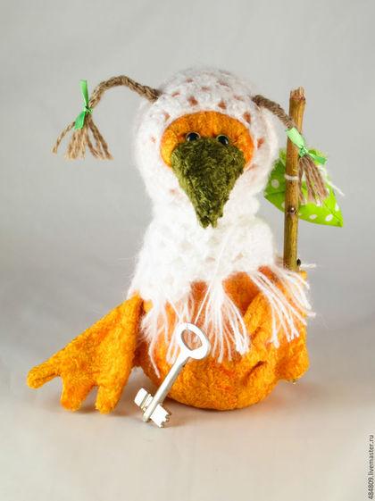 Мишки Тедди ручной работы. Ярмарка Мастеров - ручная работа. Купить Птица счастья-3. Handmade. Оберег, птица счастья