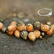 Украшения ручной работы. Ярмарка Мастеров - ручная работа браслет глиняный. Handmade.