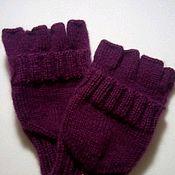 handmade. Livemaster - original item Mittens transformers lilac. Handmade.
