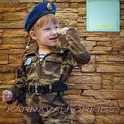 """Работы для детей, ручной работы. Ярмарка Мастеров - ручная работа """" Крутой Десантник"""" детский военный костюм. Handmade."""