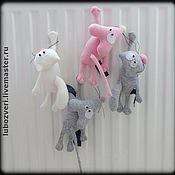Куклы и игрушки ручной работы. Ярмарка Мастеров - ручная работа Магнит на лапке. Handmade.